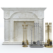 Accessories for the fireplace Stilars, ACF Arte and decorative portal Tenroy