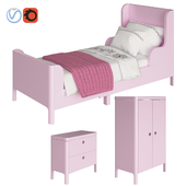 Ikea BUSUNGE light pink
