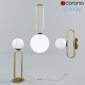 CIME lamps from ENO studio