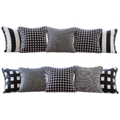 Jab Anstoetz Fabrics Fabric Pillow Set (Pillows Jab Anstoetz Fabrics 01 YOU)