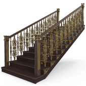 wooden stairs 002