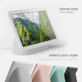 Google Home Hub 4 colors