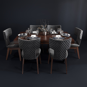 Bamax Slash dining set