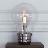 """Edison 18 """"Table Lamp with Globe Shade"""
