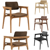 Chair Ditta Madeira by Lider