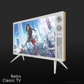 LG Classic TV 2013 Retro design