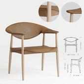 LM92P Metropolitan Chair
