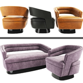 Russel Armchair And Sofa