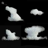Облака (3D модель)