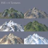 Hill (6 Textures)