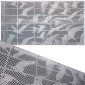 perforated metal panel N14
