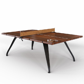 Ping pong table PING PONG TABLE - BURNT UMBER