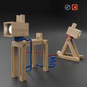 "Table lamp-transformer ""Bobik"""