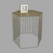 Metal Wire Cabinet, Topim - La Redoute Interieurs