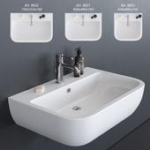 GALASSIA SA02 Washbasin art. 9921 art. 9922 art. 9923