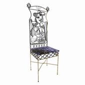 "Chair ""Picasso"", is unique."