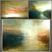 Paintings abstract | set 314