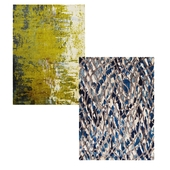 Temple and webster: Blue Klein Luxury Rug, Monet Stunning Rug