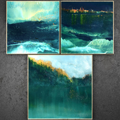 Paintings abstract | set 315