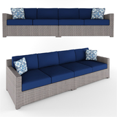 Chelsey Loveseat Seating Group with Cushions