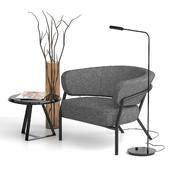 Meridiani Nani Small Armchair