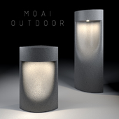 Садовые фонари фирмы BOVER_коллекция MOAI