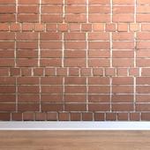 Кладка из кирпичей (Brick_029)