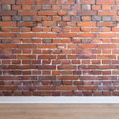 Кладка из кирпичей (Brick_022)