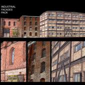 Facade for background vol.5 Industrial area
