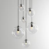 Selene Suspension Lamp - Black