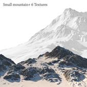 Small mountain + 6 Textures