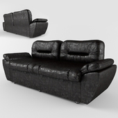 Sofa Visit Double with elbow-rests, kz 100% pu