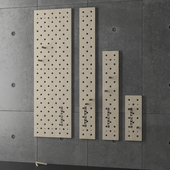 Доска для скалолазания Пегборд  Pegboard STECTER