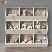 Toys and furniture set 37 (3 colors)