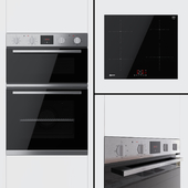 Neff - double oven U1HCC0AN0B and hob T36FB41X0G