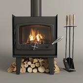 Fireplace nectre