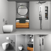 Bathrom furniture set