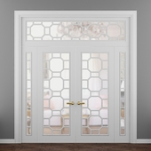 Doors Turin Onyx double doors
