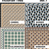 Topcer Victorian Tiles Set7