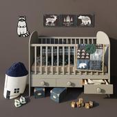 Children's bed Gonatt. Ikea