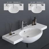 GALASSIA M2 Washbasin art. 5235 art. 5236