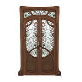 Doors in the style of Art Nouveau