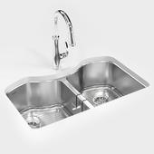 KOHLER «Octave» under-mount kitchen sink