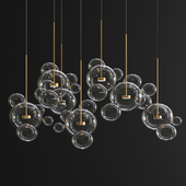 Giopato & Coombes Bolle Chandelier - 34 Bubbles