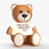 Kartell Moschino bear toy lamp