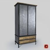 Loft design wardrobe