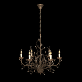 Iron branch chandelier