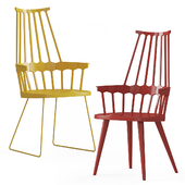 Comback chair Kartell Set