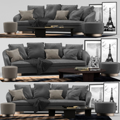 Minotti jacques set