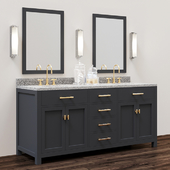 Double washbasin - Collection: Hutton